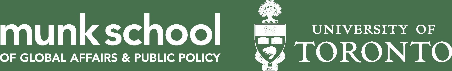Munk School of Global Affairs & Public Policy | University of Toronto