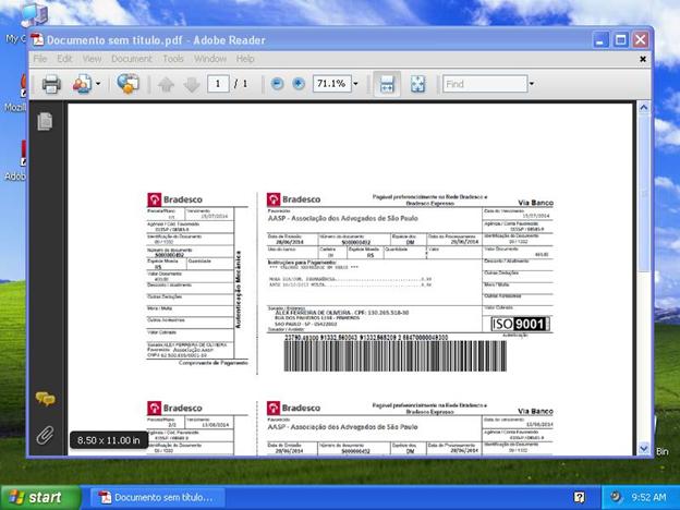 Image 14: Payment receipt