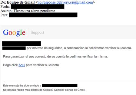 Image 18: Example phishing email