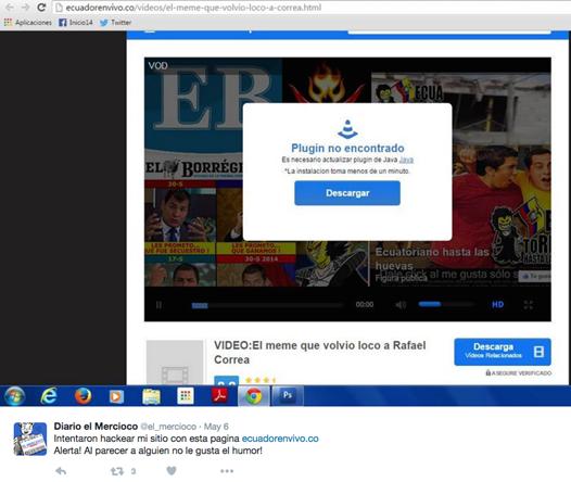 Image 22: Fake plugin notification