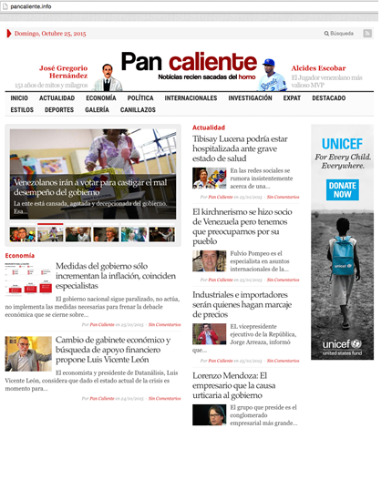 Image 26: Pan caliente website