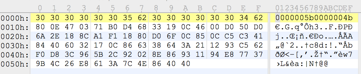 Figure 7: Configuration file for sample under examination