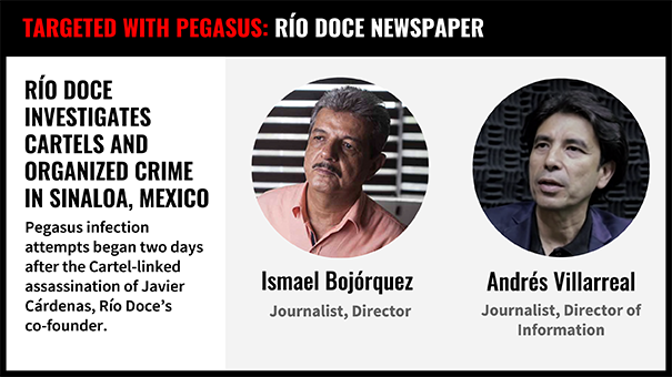 Reckless VI Mexican Journalists Investigating Cartels Targeted with NSO Spyware Following Assassination of Colleague